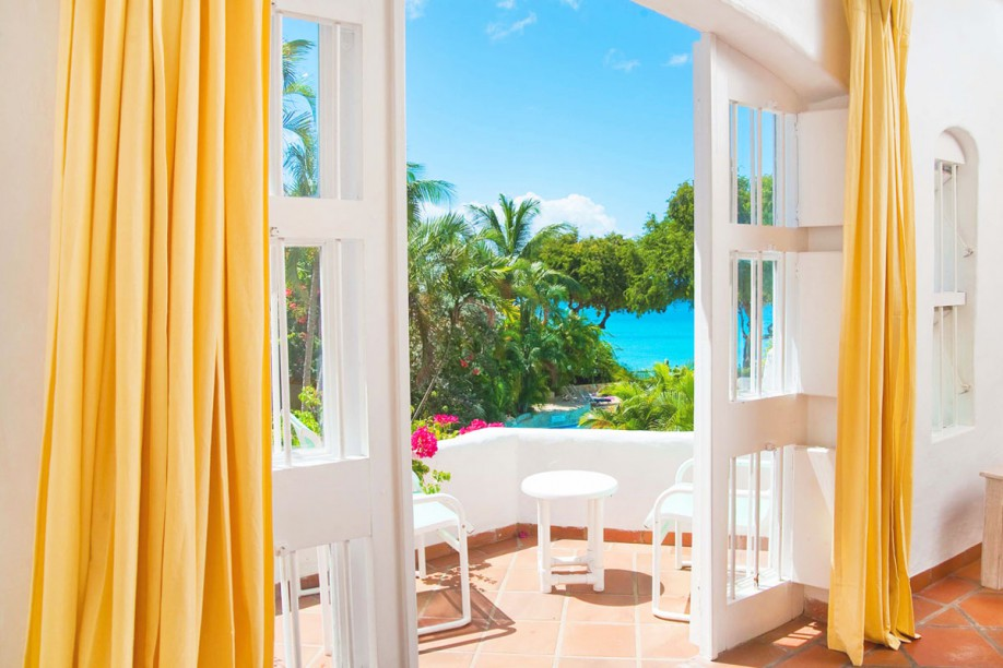 Perfect view of Barbados bliss